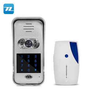 2018 smart home intercom 720P TCP/IP WiFi Video Doorbell Support Wireless Unlock IOS Android APP Control