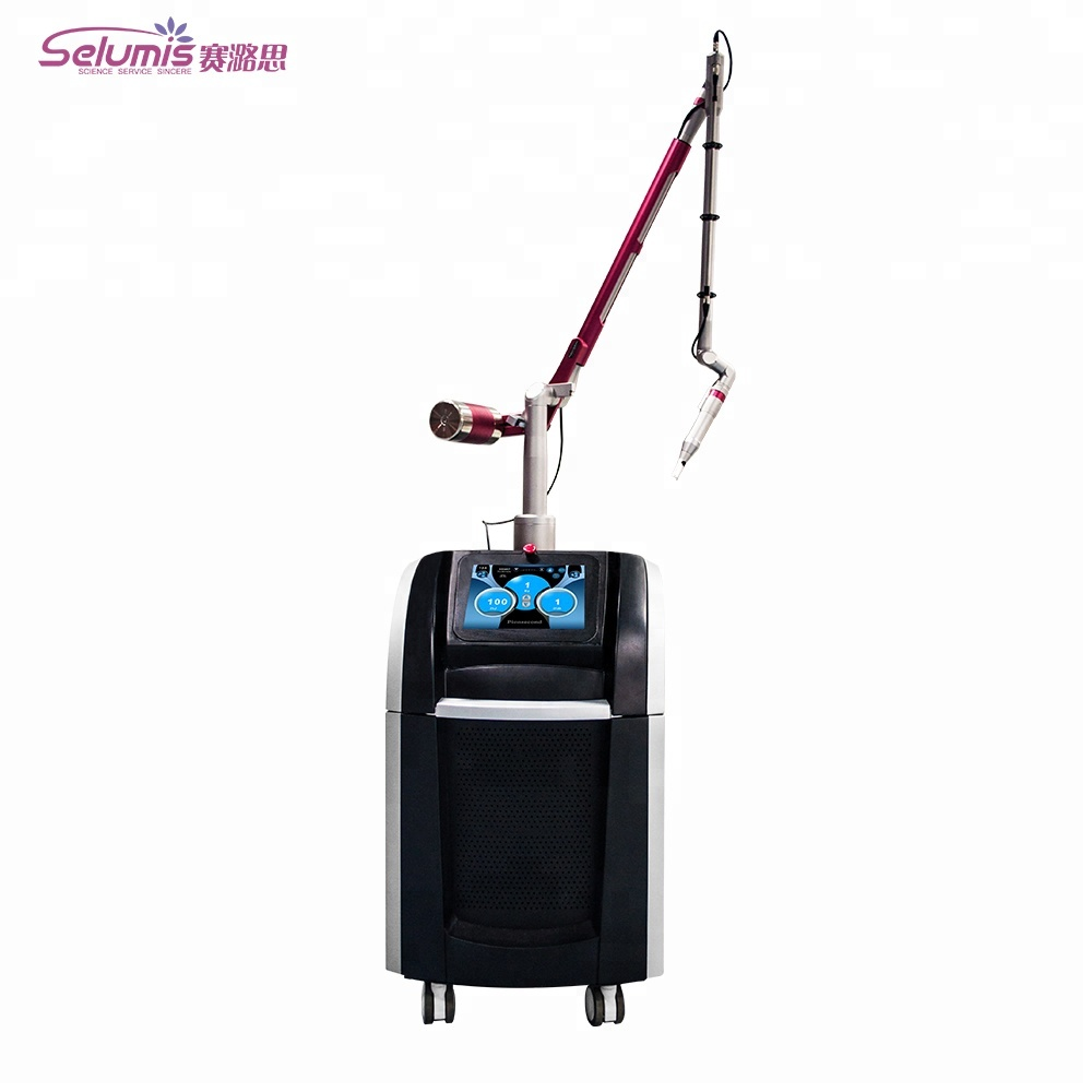 All color tattoo removal machine q switched nd yag pico laser 1064nm 532nm 755nm Pico second laser фото