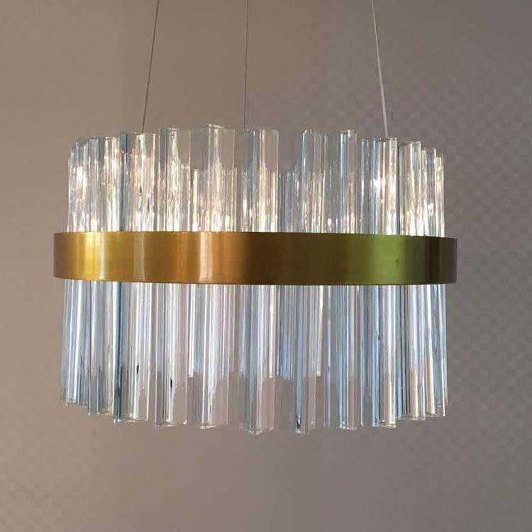 Goedkope Prijs Groothandel Goud Kleur Moderne Glas Hanger ...