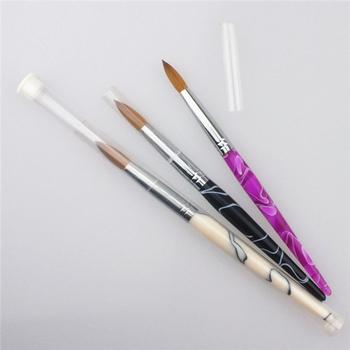 Hot Top Quality Size 08 Nail Art Brush 100 Kolinsky Acrylic
