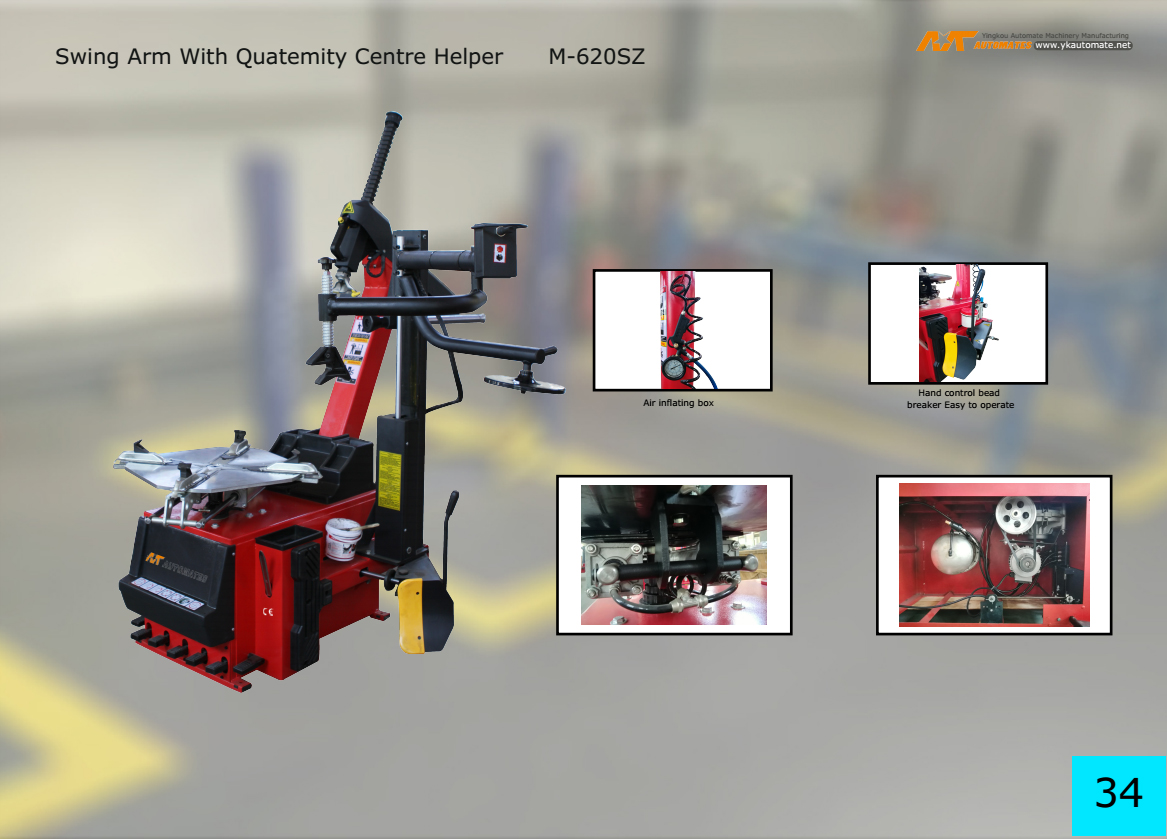 Tire repair equipment tire motorcycle Tire Changer Manufacturer