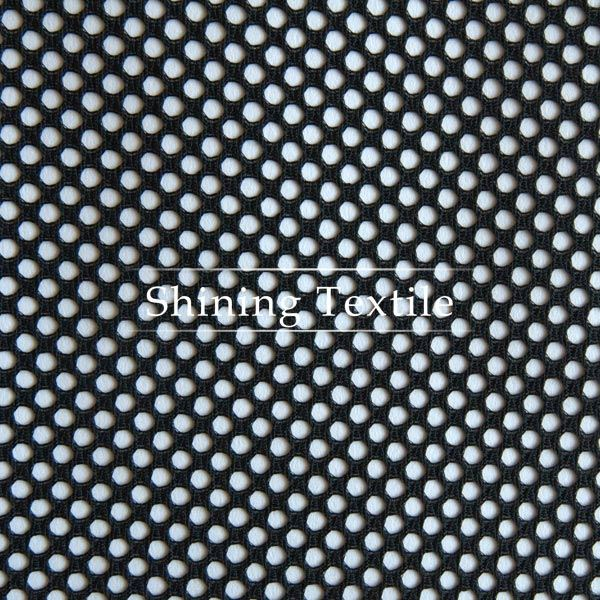 hot selling nylon polyster 100%polyester mesh fabric