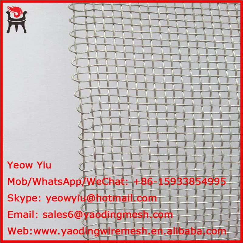free sample plain weave wire mesh stainless steel with 8 years experience