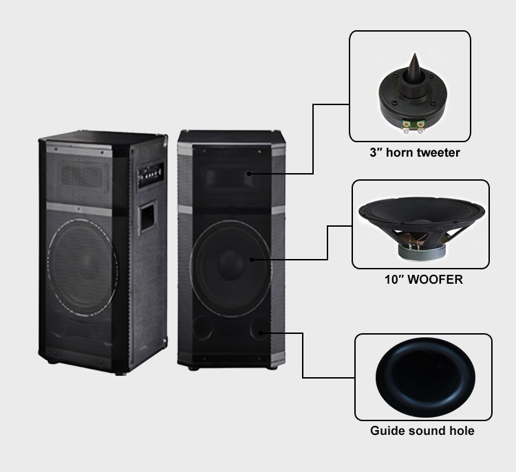 sound system cost. cost- effective ibastek bluetooth speaker 10inch stereo horn treble loud live sound system cost