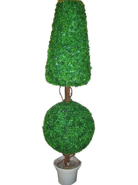 Innovation ornaments Artificial pot ball tree