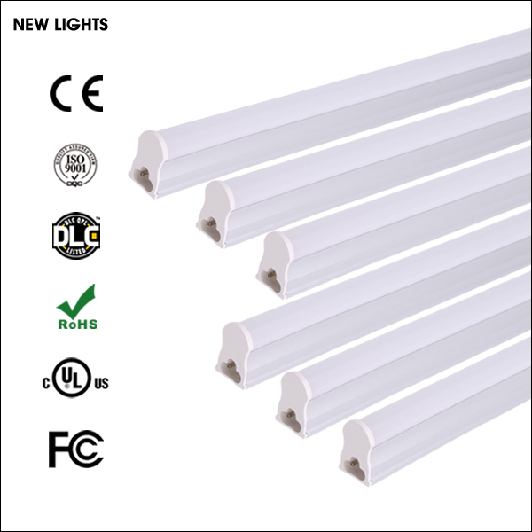 2017 New Product 5W 9W 12W 18W 85-265V High Lumen 2/4ft T5 T8 Led Tube Light Fixture with CE RoHS