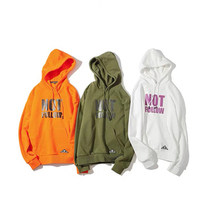 Custom Mens Street Autumn Fashion Hoodies Casual Hip Hop Pullover Hoody