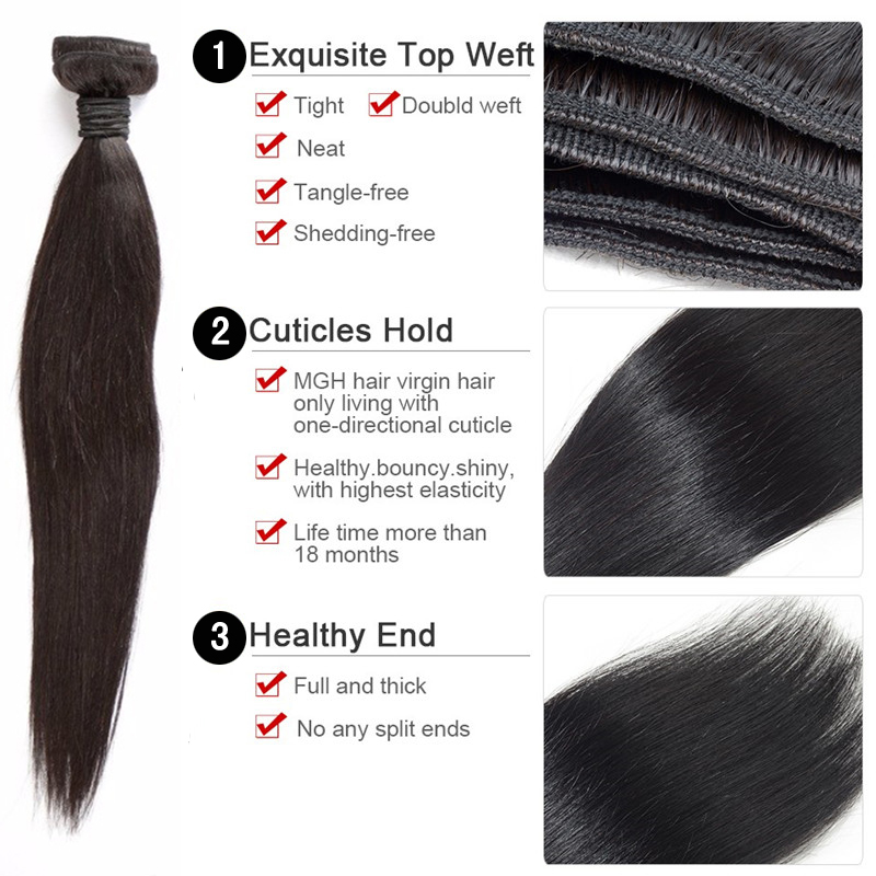 "8""~30""large stock wholesale cheap human hair,100% brazilian human hair factory dropshipping and straight wave hair extensions"