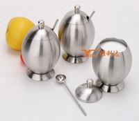 Lovly wholesales Kitchen Stainless Steel Oil Cruet/olive oil and vinegar cruet