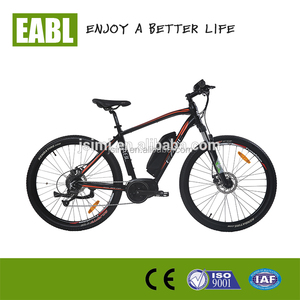 2017 OEM mountain electric bike with bafun mid drive motor, 36v 350w electric tricycle
