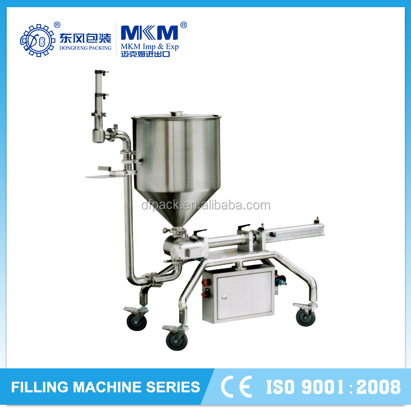 2015 Economic hot sale paste cup filling and sealing machines DF
