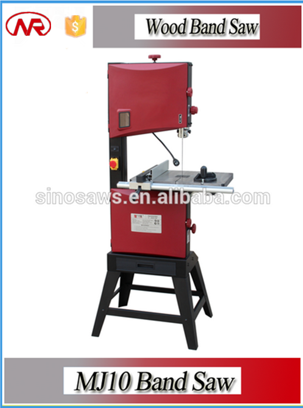 Vertical band saw machine for cutting wood MJ10