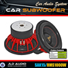 "Made in China 15 inch car subwoofer dual 2 ohm speaker with 15"" red aluminum basket 1000 watts subwoofer"