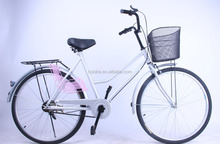 "city bike bicycle 26"" 24''/adult bike with tool and basket"
