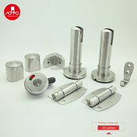 stainless steel 304 public toilet partition accessories