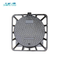 UniValve Water Meter Ductile Cast Iron Manhole Cover EN124 A15 with Polymer Frame