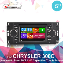 <span class=keywords><strong>5</strong></span> zoll 1080p HD-Video kapazitive touch screen <span class=keywords><strong>auto</strong></span>-<span class=keywords><strong>dvd</strong></span>-<span class=keywords><strong>player</strong></span> für chrysler 300c mit gps, bt, tv, ipod