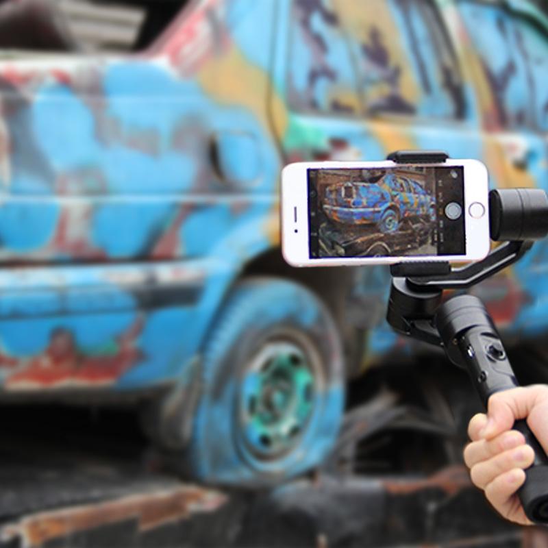 Zhiyun Z1 Гладкой C/Z1-Smooth C ПЛЮС бесщеточный телефон gimbal смартфон стабилизатор, смартфон кпк ПРОТИВ ОСМО Мобильный