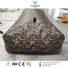 Foldable & collapsible PVC /TPU tarpaulin military water tank