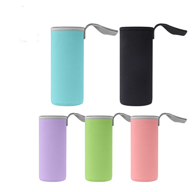 High Quality Factory Price Promotion Collapsible Neoprene Water bottle cover