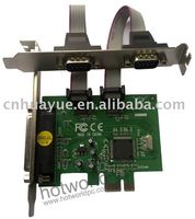 PCI card Express 2 serial port and 1 parallel port