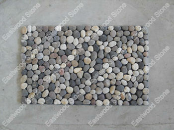 Colorful Pebble Stone Placemats Buy River Stone Placemat