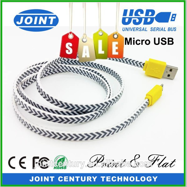 wholesale 2tb flash speed 28AWG 2C usb shielded travel plug usb cable