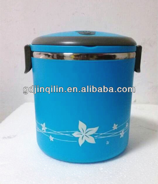 new style insulated container heating lunch tiffin box keep food hot for school