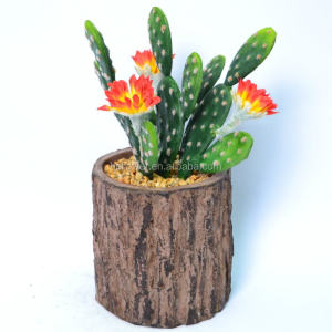 Green Artificial Cactus Plant In Tree Shape Planteri _HC-FS66164