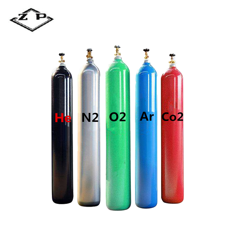 Factory Supply Hot Koop Naadloze Stalen hoge zuiverheid helium gas