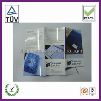 Factory brochure printing booklet printing 3d brochure for 3d brochure design