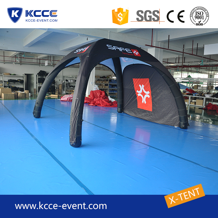 KCCE Customized printing canopy tent, outdoor adventure inflatable waterproof tent//
