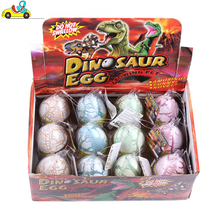 China supplier children educational toys Growing Dinosaur Egg /hatching dinosaur egg in water