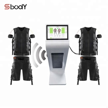 Manufacturer electroestimulador muscular ems fitness equipment with suit