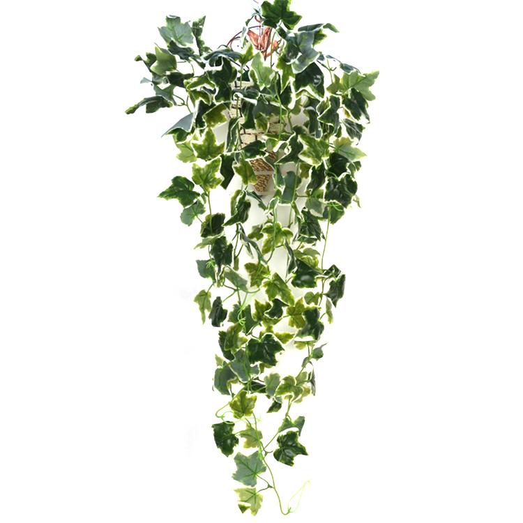 wholesale <strong>green</strong> <strong>artificial</strong> plastic ivy fake ivy vines <strong>leaf</strong> <strong>artificial</strong> hanging plant