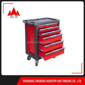 Tool Box With Fridge/handle Tool Box With Wheels/Material Stainless Steel Tool  Chest