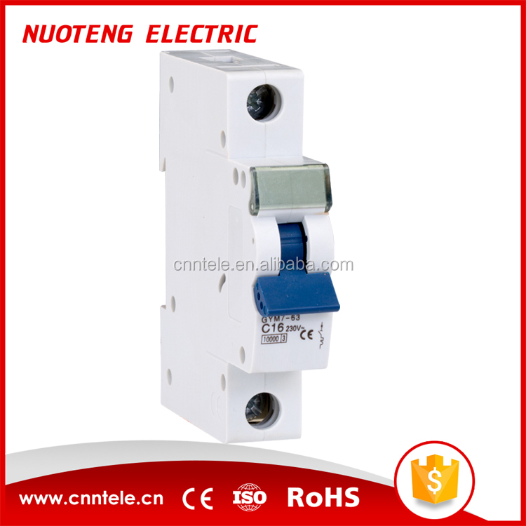 low voltage electric goods automatic circuit breaker manufacturer