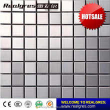 Made in Foshan China Supreme Quality glass mixed stainless steel mosaic tile