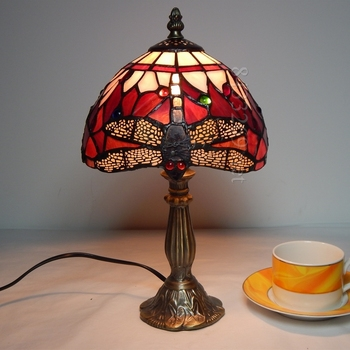 best sales for 8inch tiffany style table lamp from factory for your decoration 8S4-48RT305