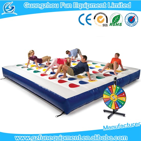 large inflatable sport game Inflatable Twister Game interactive sport