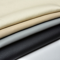 Recycled Synthetic Bonded Pu Microfibre Synthetic Leather Sheet Fabric Properties Chunky Faux Pvc Leather For Car Seat