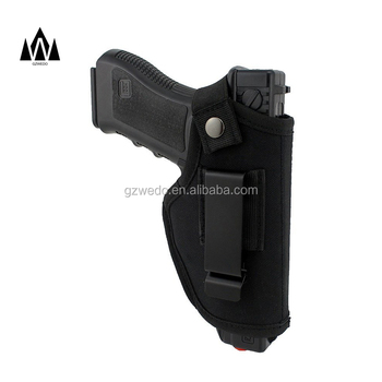Universal Hand Gun Holster for Glock, Concealed Carry Military Pistol Holster Belt Fits S&W M&P Shield 26 to 43,Right & left