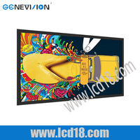 42inch Wall-mounted LCD Media Advertising player ultrathin screen easy management best popular digial signage