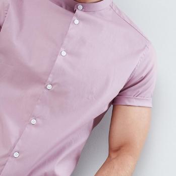 c5969bd7b419ff3 2018 оптовая продажа из Китая Последние Повседневная рубашка конструкции с коротким  рукавом летние мужские рубашки