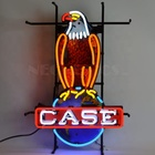Advertising case eagle flex led neon light with printing acrylic panel for decoration