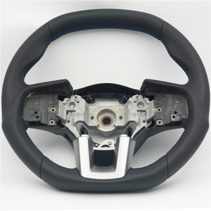 2016 AUTO RACING CAR STEERING WHEEL FOR SUBARU FOREST LEATHER CARBON FIBER STEERING WHEEL