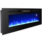 Electric Fireplace Insert Insertelectric Decorative Electric Fireplace Inserts 60 Inch Length Decor Flame Decorative Remote Control Modern Larger Wall Mounted Electric Fireplace Built In Insert