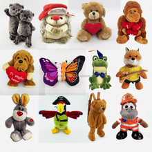 soft kids promotional different style animal stuffed custom plush toy