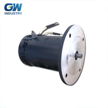 GW Efficient Industry 1.5kw dc motor 12v 24v dc traction motor