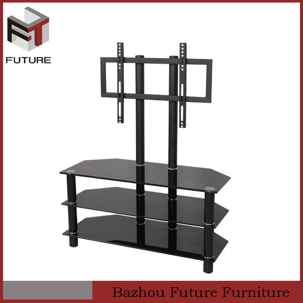 meuble tv fer forg verre meuble de salon contemporain. Black Bedroom Furniture Sets. Home Design Ideas